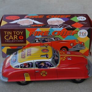 Tin Toy – Fire Chief Car
