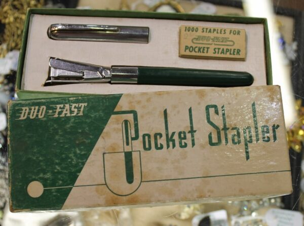 morpeth antique centre hunter valley novelty duo fast pocket stapler