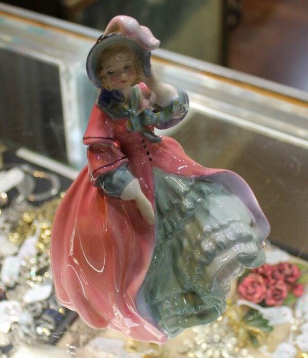 morpeth antique centre hunter valley royal doulton figurine spring morning