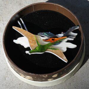 Erstwilder Brooch – Celine the Pterodactyl