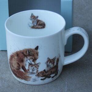 Wrendale Mug – Bedtime Kisses (Foxes)
