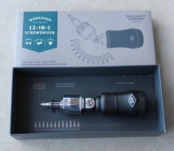morpeth gift gallery hunter valley gentlemen's hardware 12 twelve in one screwdriver