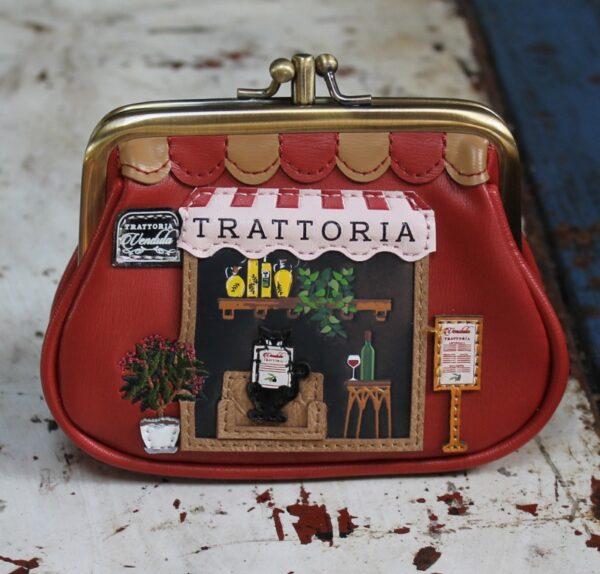 morpeth gift gallery hunter valley vendula corgi london bus tote bag handbag grab clipper coin purse trattoria italian restaurant pasta zip around wallet pouch crossbody