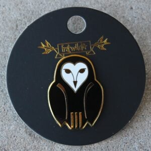 Erstwilder Enamel Pin – Owl Ornamental