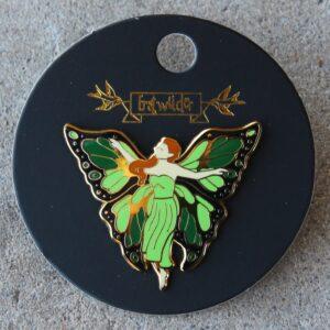 Erstwilder Enamel Pin – La Fee Verte (Fairy)