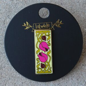Erstwilder Enamel Pin – Flower and Thorn