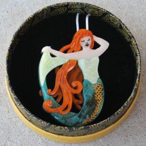 Erstwilder Brooch – Siren's Call (Mermaid)