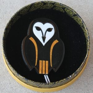 Erstwilder Brooch – Owl Ornamental