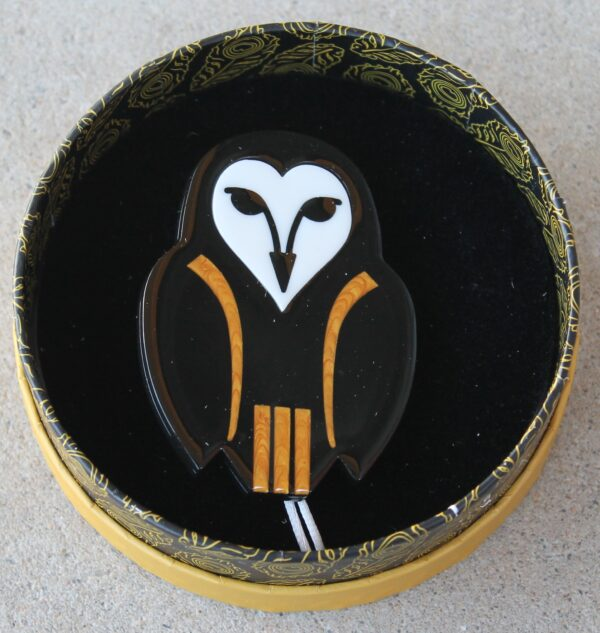 morpeth antique centre hunter valley erstwilder enamel pin doggo darkness earring brooch necklace art nouveau owl ornamental retro enamel pin up collectable
