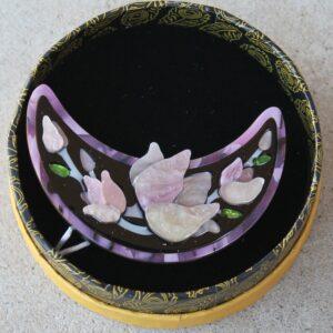 Erstwilder Brooch – Steel Magnolias (Lilac)