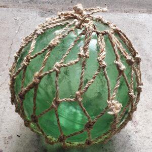 Vintage Fishing Float 16inch (Deep Green)