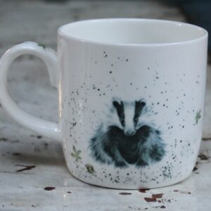 Wrendale Mug – Country Gent (Badger)