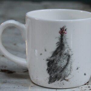 Wrendale Mug – A Fair Fowl (Guinea Fowl)