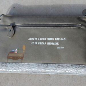 Vendula Pouch Bag – Apothecary (Grey)