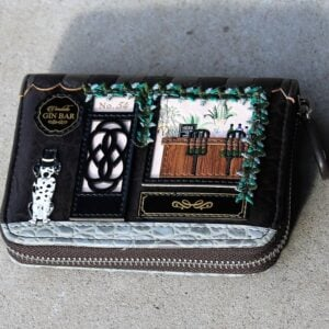 Vendula Zip Around Wallet Small – Gin Bar