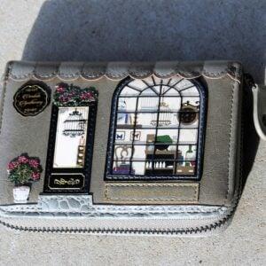 Vendula Zip Around Wallet Small – Apothecary (Grey)