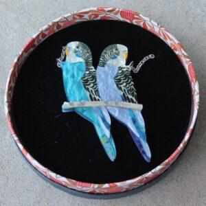 Erstwilder Necklace – Pair O'Keets (Budgerigar)
