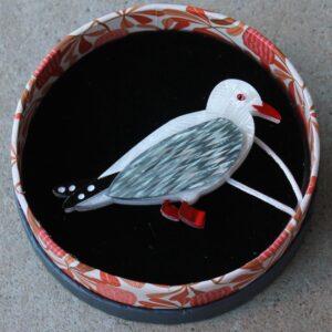 Erstwilder Brooch – The Chippy Caper (Seagull)