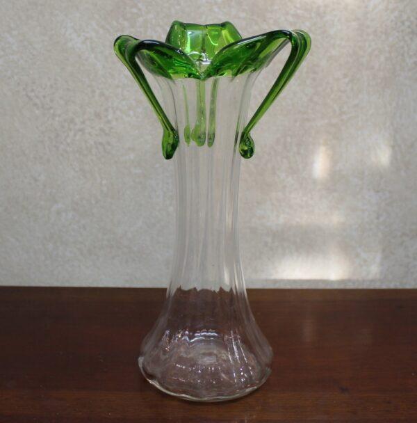 morpeth antique centre hunter valley art nouveau glass vase figurine