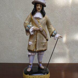 King Charles II Figurine