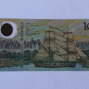 Australian Ten Dollar Note 1988