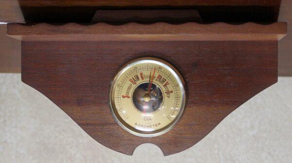 morpeth antique centre hunter valley kitchen weather gauge timber barometer