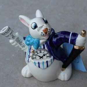 White Rabbit Teapot