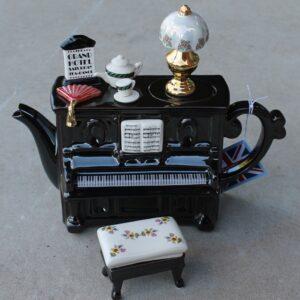Upright Piano Teapot