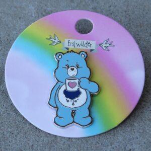 Erstwilder Enamel Pin – Good Morning, Grumpy Bear