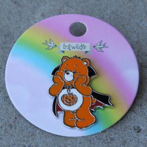 Erstwilder Enamel Pin – Trick-or-Sweet Bear