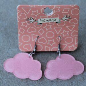 Erstwilder Earrings – Cloud Pink Sparkle