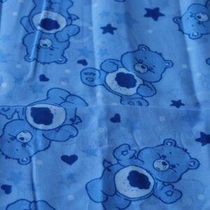 Erstwilder Neck Scarf – Grumpy Bear (Blue)
