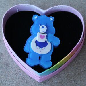 Erstwilder Brooch – Good Morning, Grumpy Bear