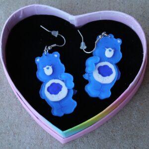 Erstwilder Earrings – What's Up, Grumpy bear?
