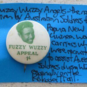 Fuzzy Wuzzy Angels Badge
