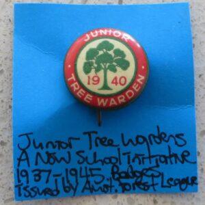 Tree Warden Badge 1940
