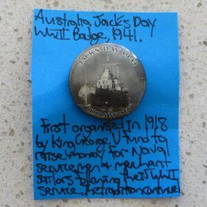 Australia Jack's Day Badge
