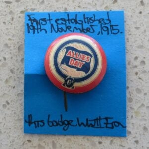 Badge – Allies Day
