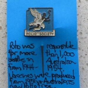 Polio Society Pin