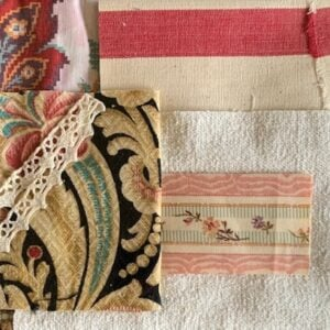 Antique French Fabric – Code S03
