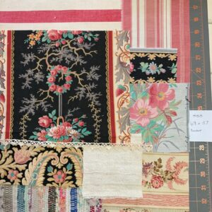 Antique French Fabric – Code S08