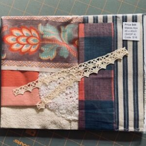 Antique French Fabric – Code S16
