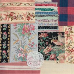 Antique French Fabric – Code S28
