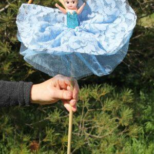 Deluxe Kewpie Doll – Lacey Aqua Blue