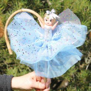 Deluxe Kewpie Doll – Blue Sparkle