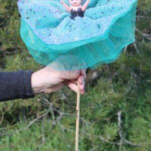 Deluxe Kewpie Doll – Emerald Green
