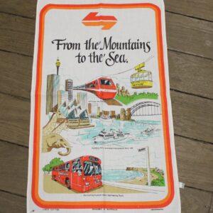 Teatowel – State Rail Mountains to the Sea