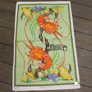 Teatowel – Shoal Bay, Port Stephens (Lobster)