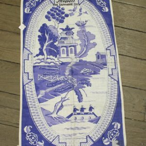 Teatowel – Inverell (Blue Willow)
