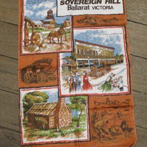 Teatowel – Sovereign Hill, Ballarat, VIC